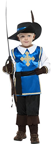 4 Piece Boys Musketeer Muskateer Book Day Fancy Dress Costume Outfit Age 10-12 (Musketeers Fancy Dress)