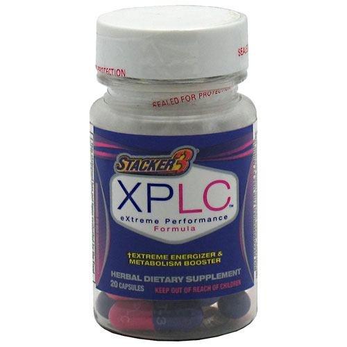 STACKER 3 XPLC PERFORMANCE EXTRÊME POIDS PERTE BURN FAT EPHEDRA GRATUIT 20 PAC