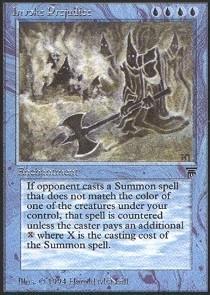 Magic: the Gathering - Invoke Prejudice - Legends by Magic: the Gathering