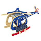 B Blesiya 3D Solar Power Energy DIY Aircraft Model Wooden Jigsaw Puzzle Kid's Educational Toy Plane Crafts - #2, as described