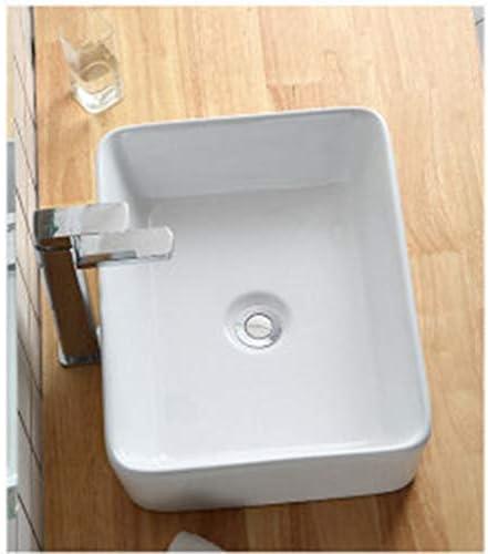 洗面台,手洗い器 壁付け型 陶器 洗面ボール 手洗い器 壁付け型 手洗い鉢 ガラス 手洗い鉢 おしゃれ 洗面ボ 手洗器 楕円形 洗面台 省スペ 室外 ミニ型 (Size : 823)