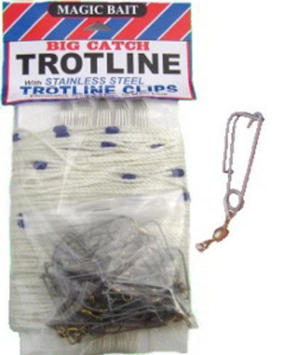 Magic Bait Big Catch 150-Feet Trotline, White