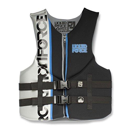 Liquid Force Vortex Vest CGA Black/Silver (X-Large) by Liquid Force