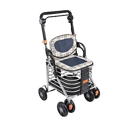 Shopping walker Andadores estándares y Ligeros Caminante, Compras ...