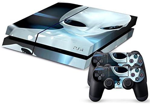 Sony PS4 Playstation 4 Skin Design Foils Pegatina Set - Alien Motivo: Amazon.es: Videojuegos