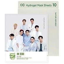 Nature Republic Nature Hydro Gel Mask- EXO Edition, 10 sheets/box