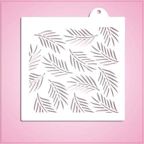 cheapcookiecutters Palm Leaves Pattern Stencil-One Piece