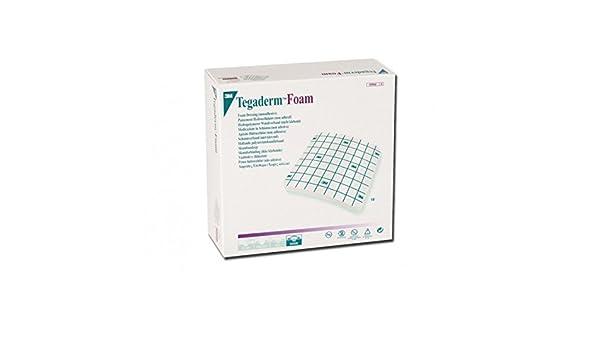 3 m TEGADERM espuma-9 x 9 cm sin adhesivo: Amazon.es: Salud y cuidado personal