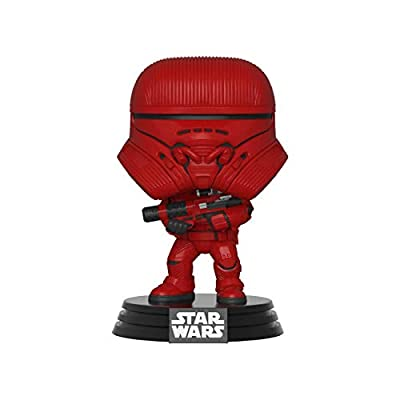 Funko Pop! Star Wars: Episode 9, Rise of Skywalker - Sith Jet Trooper: Toys & Games