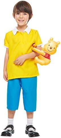 ディズニー くまのプーさん クリストファーロビン キッズコスチューム 男女共用 Tod 対応身長80cm-100cm
