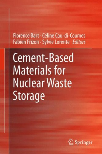 [Cement-Based Materials for Nuclear Waste Storage] (Reinforced Cement Concrete)
