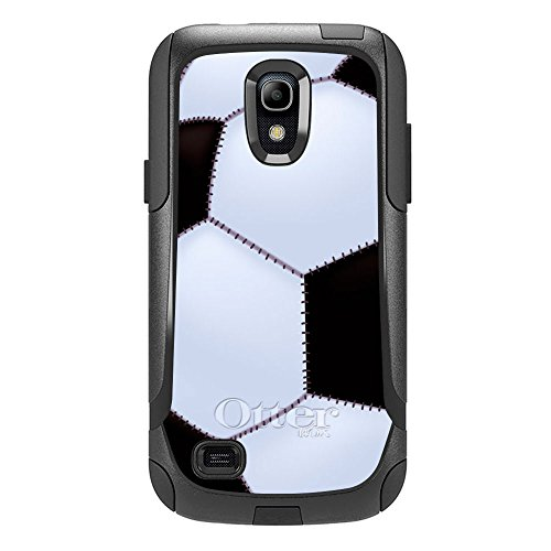 Skin Decal for Otterbox Commuter Samsung Galaxy S4 Mini Case - Soccer Ball