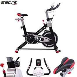 Esprit MOTIV-8 Exercise Spin Bike Fitness Cardio Weight Loss...