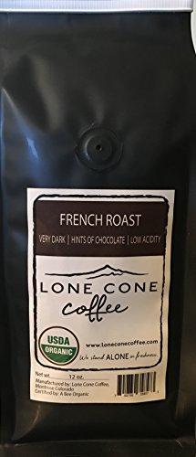 Organic French Roast Blend- 12oz Air Roasted Coffee Beans (Whole bean)