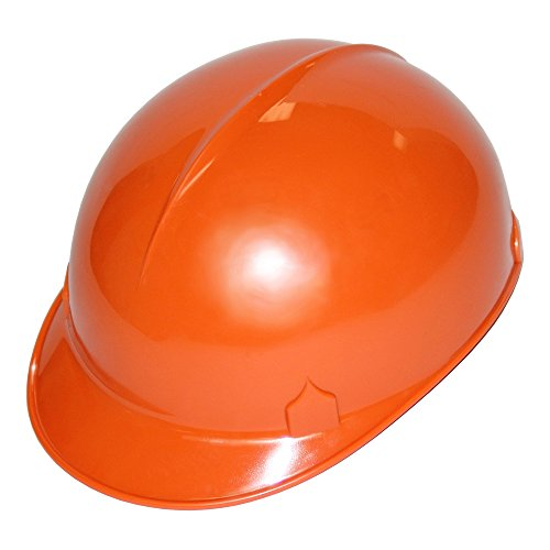 Jackson Safety C10 Bump Cap (14814), Safety Hard Hat for Minor Bumps, Absorbent Brow Pad, 4-Pt. Suspension, Orange, 12 / Case