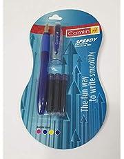 قلم حبر نفاث سبيدي من كاملين لون ازرق