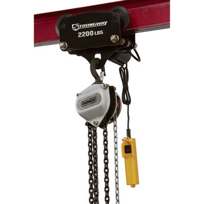 Strongway Electric Trolley - 2,200-Lb. Capacity