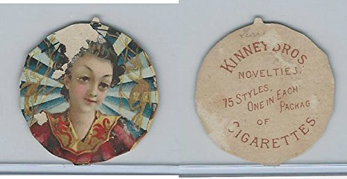 N228 Kinney, Novelties, 1890, Diecut, Firescreen-Japanese design
