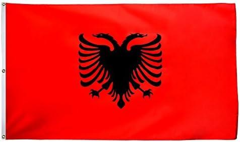 Flaggenfritze – Bandera de Albania, bandera de Albania Izar con ...