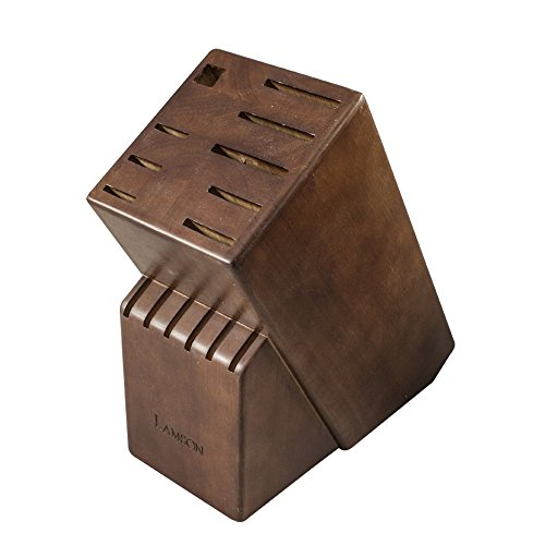 Lamson TreeSpirit Walnut Knife Block - -