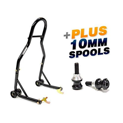 venom sport bike motorcycle rear wheel swingarm spool lift