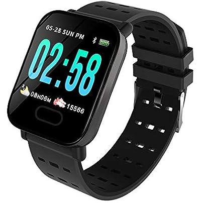 SJUTALR Remote Camera Wristband Pedometer Bracelet Heart Rate Blood pressure Blood oxygen Fitness Tracker Smart Band Estimated Price £59.98 -