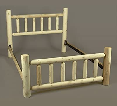 Rustic Slat Bed Size: Double