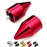 Yamaha YZF R6 2006 2007-2012 YZF R1 1998-2010 2011 2012 SPIKE BAR ENDS Red