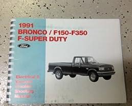 1991 ford f150 f 250 f 350 f250 f350 bronco wiring 1991 Ford F 250 Wiring Diagram 1991 ford f 350 wiring diagrams