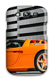 New Arrival Orange Car In An Underground Parking For Galaxy S3 Case Cover