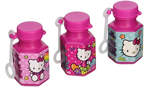 Hello Kitty Rainbow Mini Bubbles Birthday