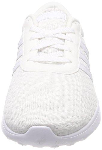 adidas Lite Racer, Zapatillas de Gimnasia Unisex Adulto Blanco (Ftwbla/Ftwbla/Ftwbla 000)