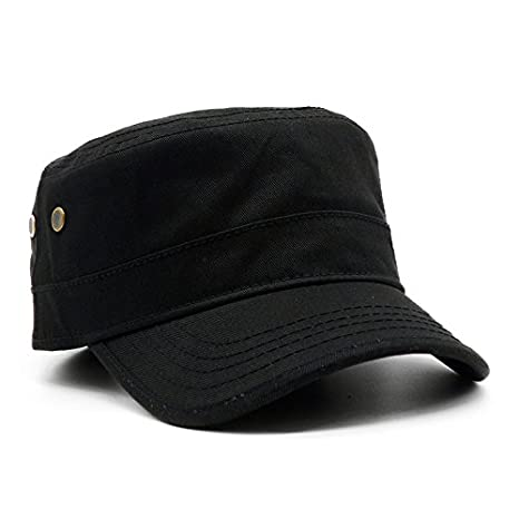 101623604 Llxln Men Baseball Caps Skull Embroidered Logo Flat Top Hats Cotton  Snapback Flat Cap Army Cadet Hat Women Gorros Hombre Hip Hop,Black:  Amazon.co.uk: Sports ...