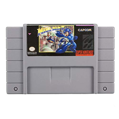 Megaman 7 Mega Man VII 16 Bit 46 Pin Super Game Cartridge for RPG SFC - Retro Games Accessories Cartridge For Nintendo - 1 x Megaman 7 16 Bit 46 Pin Super Game Cartridge