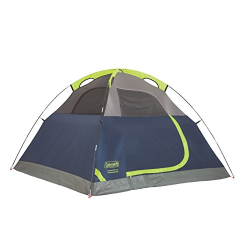 Coleman Sundome 3-Person Dome Tent, Navy/Grey