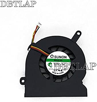 DBTLAP Ventilador de la CPU del Ordenador portátil para Fujitsu Amilo M7440 M7440G T5512S05HD 3 Pin Portátil Ventilador: Amazon.es: Electrónica