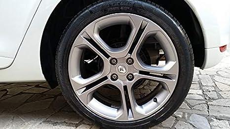 4 Tapas de tapacubos Renault 60 mm con Llavero en Homenaje, Tapas centrales Rueda Aleación Clingo Laguna Megane Scingo Twingo Llantas: Amazon.es: Coche y ...
