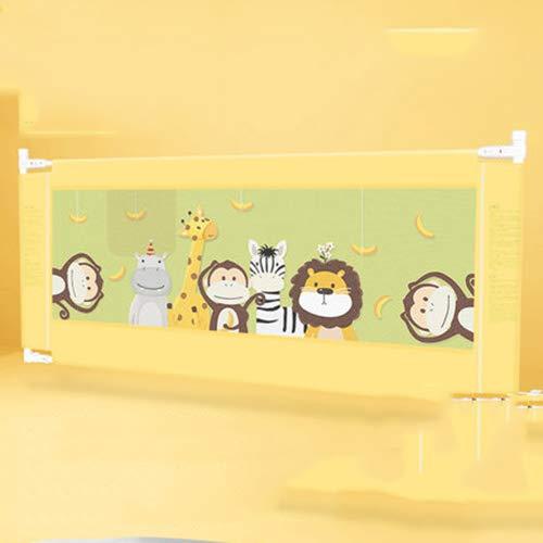 赤ちゃん子供ベッドガードレールアップグレードベッドレールサポート垂直リフトベビーベッドサイドフェンス赤ちゃんから5歳まで使用できます。,banana78in banana78in  B07L6HV9PY