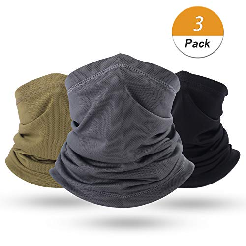 LONGLONG Summer Face Scarf Mask - Dust, Windproof, Breathable and Thin Cycling Hiking Fishing Cool Bandana