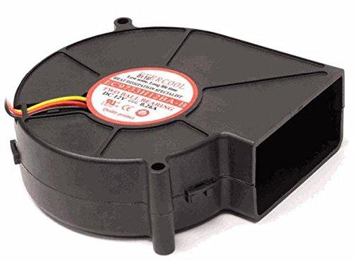 Evercool EC9733H12BA-B 97 x 33mm 12V DC Double Ball Bearing Blower ()