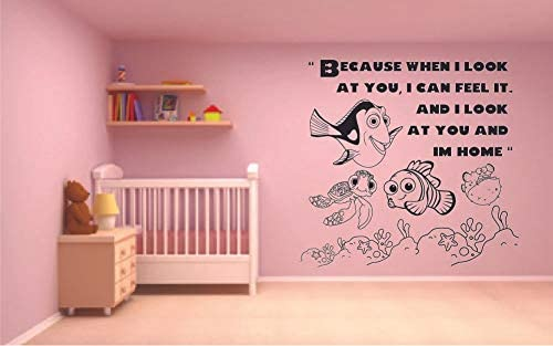 Spell Love Winnie The Pooh Quote Disney Cartoon Quotes Wall Sticker Art Decal for Girls Boys Room Bedroom Nursery Kindergarten House Fun Home Decor Stickers Wall Art Vinyl Decoration Size 10x10 inch