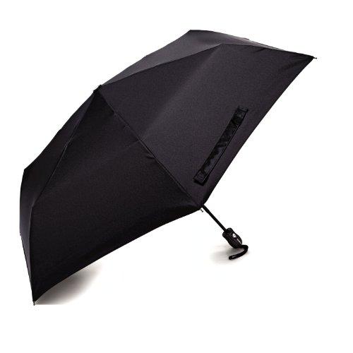 Samsonite Compact Auto Open/Close Umbrella, Black