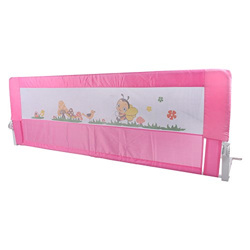 150 180cm Single Toddler Bed Rail Child Safety Guard Folding Infant Baby Bedrail Protection Guards