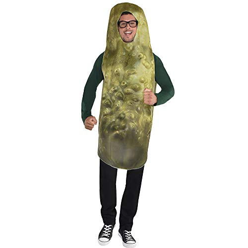 amscan Pickle Halloween Costume for Men, -