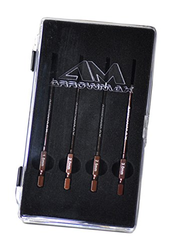 Arrowmax Power Tool Tip Set with Plastic Case & 2 x 80mm (80 Mm Tip)