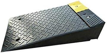 ブラックランプ、ロードランプカーブランプラバースロープ車椅子用ランプしきい値用ランプ車用ランプ滑り止め用ランプ (色 : ブラック, サイズ さいず : 80*50*17CM)