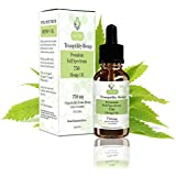 Hemp Oil 750mg Premium Full Spectrum for Pain Relief | Natural Anti Inflammatory & Mood Enhancer | Reduces Stress & Tension | Sleep Aid Supplement & MCT Fatty Acids | 3rd Party Lab Tested