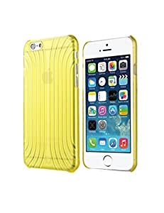 Creaker Shell Series Plastic Anti-slide Mobile Phone Back Case Cover for iPhone 6 4.7 inch (Yellow)