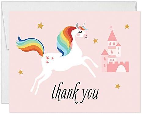Handmade Personalised Girls Unicorn Castle Birthday Card Daughter 1 2 3 4 5 6