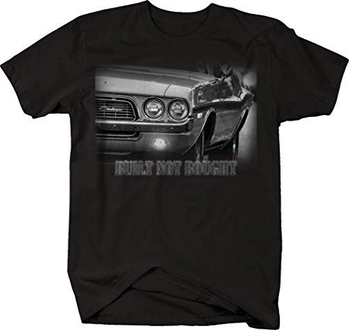 OS Gear Built Not Bought Dodge Challenger Mopar Muscle Racing Tshirt - Medium
